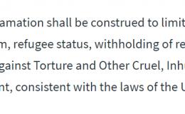 20200424更新:川普签署的暂停移民文件,对来美国寻求庇护的人,或已经提交了庇护申请的人,没有任何影响!